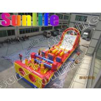Quality Rent Large Inflatable Obstacle Course , Inflatable Outdoor Play Equipment for sale