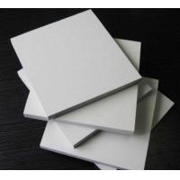 Quality Rectangle White Sintra PVC Foam Board , 5mm Moisture Proof Foam Insulation Board for sale