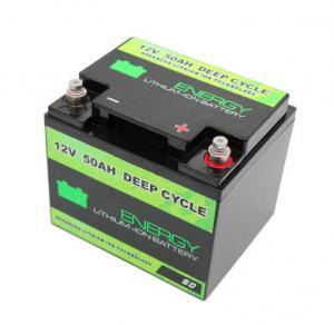China Capacity indicator BMS lifepo4 lithium battery pack 12v 50ah li-ion battery on sale