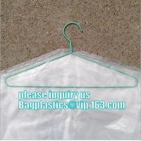 Quality commercial clear pe ldpe poly hotel laundry roll up suit garment packaging dry cleaning cover plastic polythene bag for for sale