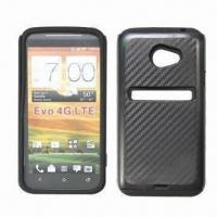 China Cases for HTC EVO 4G, Made of PC and Silicone on sale