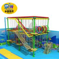 Buy cheap Rope Course Outdoor Playground Equipment Commercial For Shopping Mall / Square from wholesalers