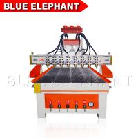 Quality Heavy Duty Wood Cutting Cnc Router Machine , Cnc 3d Wood Carving Machine DSP Control System for sale