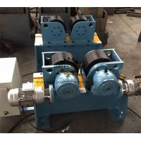 Quality Bolt shift Adjustment Pipe Turning Rolls , Digital Speed Display Pipe Welding rotator for sale