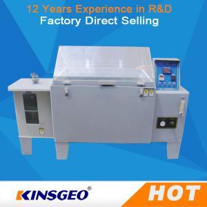 3KW SO2 Gas Salt Spray Test Machine with 85%-95% RH Salt Fog Test Chamber With PID Controller