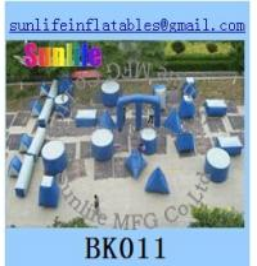 Quality inflatable 44pcs millium paintball bunker Flexible combination for sale
