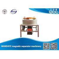 Quality Kaolin Beneficiation Dry Drum Type Magnetic Separator Machine Low Noise for sale