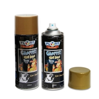 Quality Tinplate Can Thermoplastic 400ml Acrylic Aerosol Spray Paint for sale