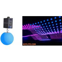Quality SMD RGB Color Mixing Kinetic LED Balls DMX Motorized Lifting Color Ball for sale