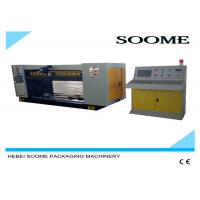 Quality SS 304 Corrugated Sheet Cutting Machine Technical Performance / Rotary Die Cutting Machine for sale