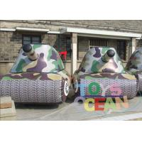 Buy cheap Safe Gaint Inflatable Paintball Bunkers Waterproof For Children from Wholesalers