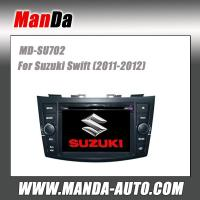 Quality double din car dvd gps for Suzuki Swift (2011-2012) in-dash audio car multimedia navigation system for sale