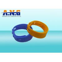 Buy Contactless H3 Chip Uhf Rfid Tag Water Proof Hf Rfid Silicone Wristband Bracelet at wholesale prices