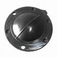 Quality Diaphragm Rubber/Molded Rubber Parts, Made of EPDM, NBR, Silicone, Viton, CR, NR and SBR  for sale