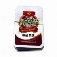 China Duck Meat Retortable Pouch with High Temperature and Moisture-resistant on sale