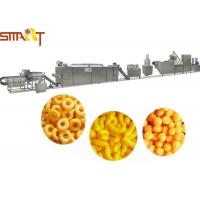 Quality Puff Snack Food Making Machine SS Material Snack Food Production Line for sale