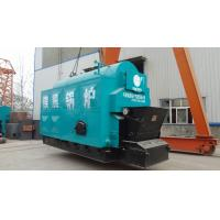China Horizontal Wood Fired Steam Boiler Low Pollution Combustion Automatic And Chain Grate on sale