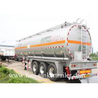 Buy cheap 30 - 60CBM Aluminum Alloy Fuel Crude Oil Tanker Trailers 50000 Liters from Wholesalers