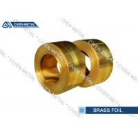 Buy cheap CuZn30 - H70 - C26000 Wide Brass Foil sheet  With Different Temper from Wholesalers