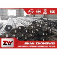 Quality Carbon Steel Grinding Rods for Rod Mill In Mining and Cement Plant for sale