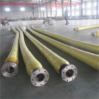 Quality Anti Static Dock Oil Rubber Hose , High Pressure Flexible Suction Delivery Hose for sale