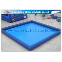 Rectangular Inflatable Swimming Pool Above Ground Backyard Inflatable Pool For Family For Sale
