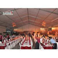 Custom Big Outdoor Event Tents White Party Tents With Tables Chairs Wedding Tent