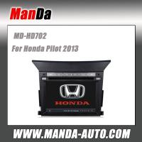 Buy double din car stereo for Honda Pilot 2013 Car dvd player gps navigation touch at wholesale prices