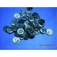 Quality Black MOP Shell Buttons with 4 Holes for sale