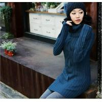pullover sweater,sweater dress,ladies cotton sweater LYC908