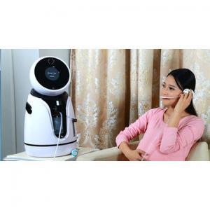 Quality Intelligent Speaking Robot for Fetal Heart Monitoring ABS Housing White & Black for sale