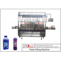 Quality Linear 1-5L Cleaner Filling And Packaging Machine With Diving Filling Nozzle for sale