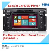 Quality Car DVD Navigation/Car DVD Auto Vedio Player for Mercedes Benz Smart fortwo (2010-2011) for sale