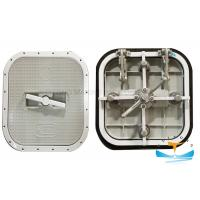 Quality Boat Watertight Yatch Aluminum Hatch Cover Flush Type 6mm Cover Thickness for sale
