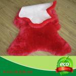 Quality 60cm  wide x90cm length  luxury think dense sheep wool Australian sheepskin for home decoration for sale