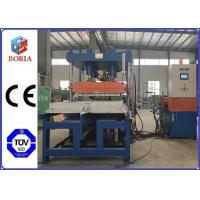 Quality Column Type Structure Rubber Tile Machine Steam Heating PLC Automatic Control for sale