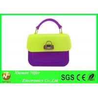 Quality Beautiful Small Jelly Candy Bag Wholesale Promotional Fashion Silicone Handbags for sale