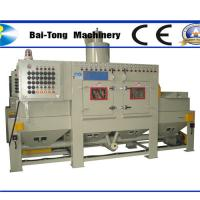 Quality Anti Explosion Automatic Sandblasting Machine Compact Working Cabinet For Steel Plate for sale