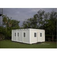 Quality Multifunctional Flat Pack Container House White Color 6000mm * 2438mm * 2891mm for sale
