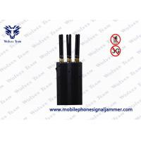 China 6 Antenna Cell Phone Signal Jammer 1 - 10m Jamming Range For Conference Center on sale