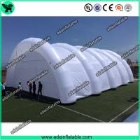 Quality Giant Event White Inflatable Arch Tent / Inflatable Tunnel Tent With Oxford Cloth Material for sale