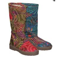 Quality Very Beautiful Ladies Printed Winter Snow Boots for sale