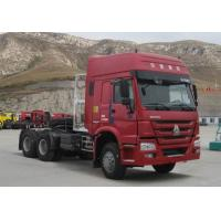 Quality HOWO 6*4-420HP-1 BEDS-Tractor truck,Semi-trailer Towing Truck-LNG Engine for sale