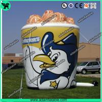 Quality Oxford Cloth Outdoor Giant Inflatable Cup Model With Print For Chicken Promotional for sale