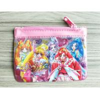 Quality Cute Girl Reusable Ziplock Bags / Offset Printing PVC Pencil Case for sale
