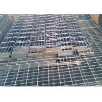 China Self Color Mild Steel Grating , Fire Brigade Driveways Galvanised Grid Flooring on sale