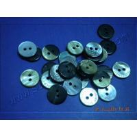 Quality Black MOP Shell Buttons 2 Holes for sale