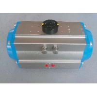 Quality 0~90 Degree Double Acting Pneumatic Rotary Actuator Rack And Pinion Rotary Actuator AT32-400 for sale