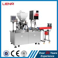 Quality 25ml, 50ml, 100ml Automatic Lotion Cream Filling Capping Machine for sale