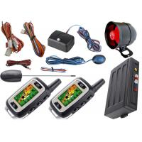 Quality Long Distance Transmitter Anti Theft Car Security System Automatic Car Starter Kits Bypass Output for sale